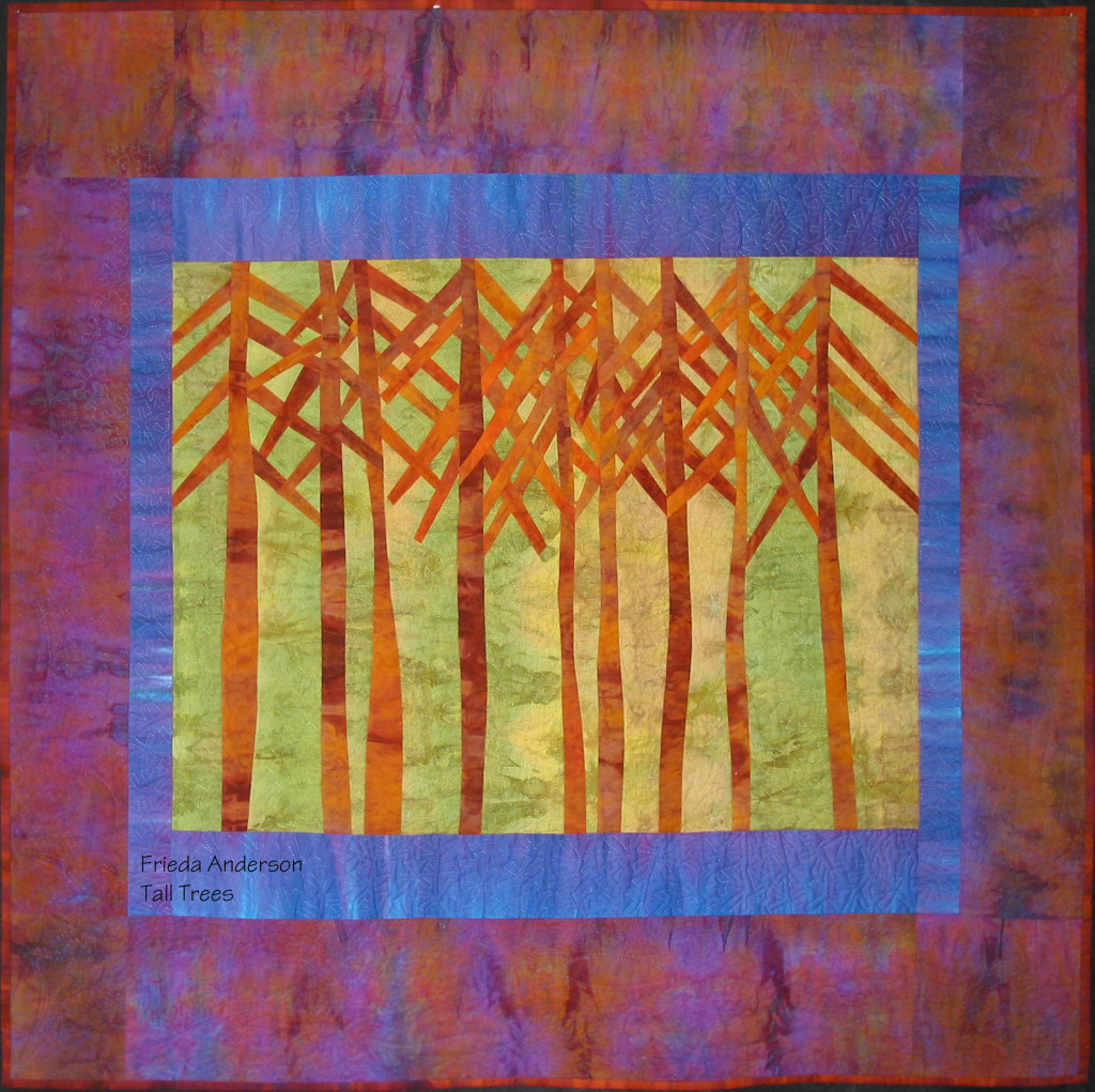 Tall Trees by Frieda Anderson