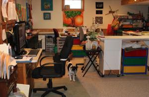 Frieda Anderson clean studio