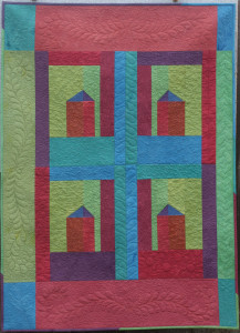 Home Sweet Home Quilt by Frieda Anderson