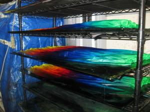 fabric drying