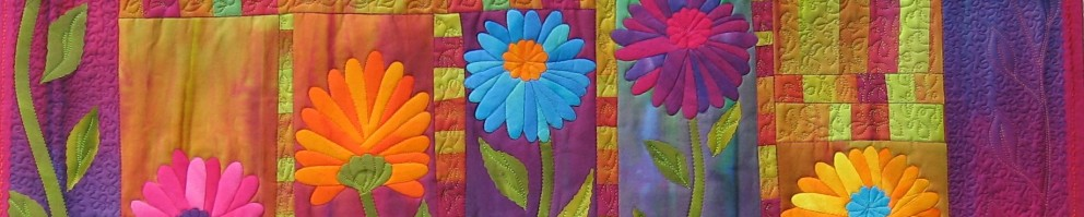 Frieda Anderson – Hand dyed fabric, Quilt Artist, Teacher