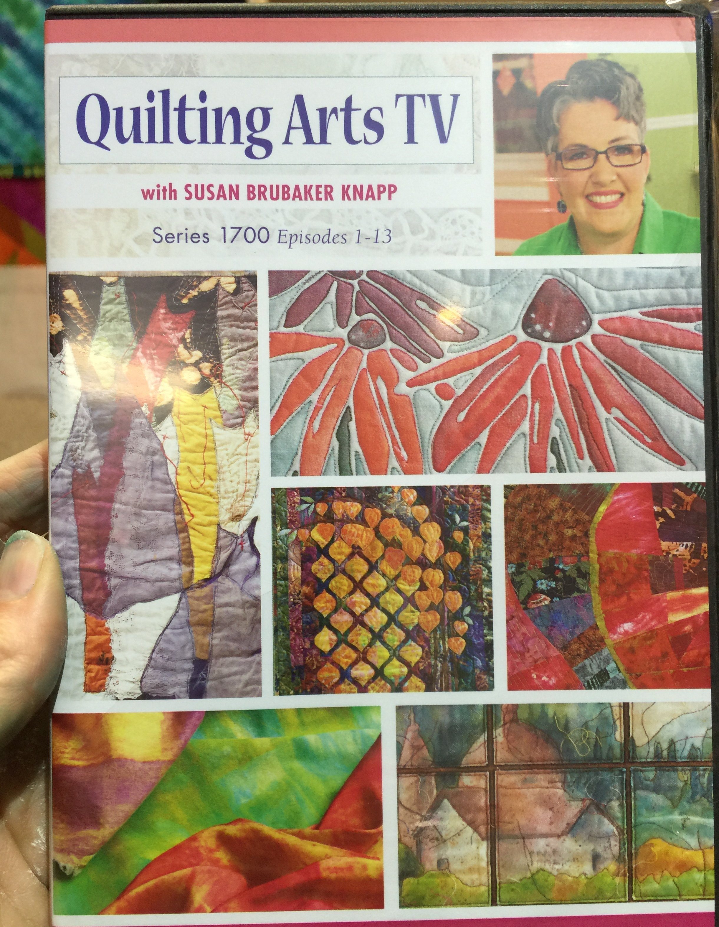 Quilting Arts TV Series 1700 | Frieda Anderson : quilting arts tv series - Adamdwight.com