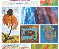 Quilting Arts TV with Frieda Anderson projects