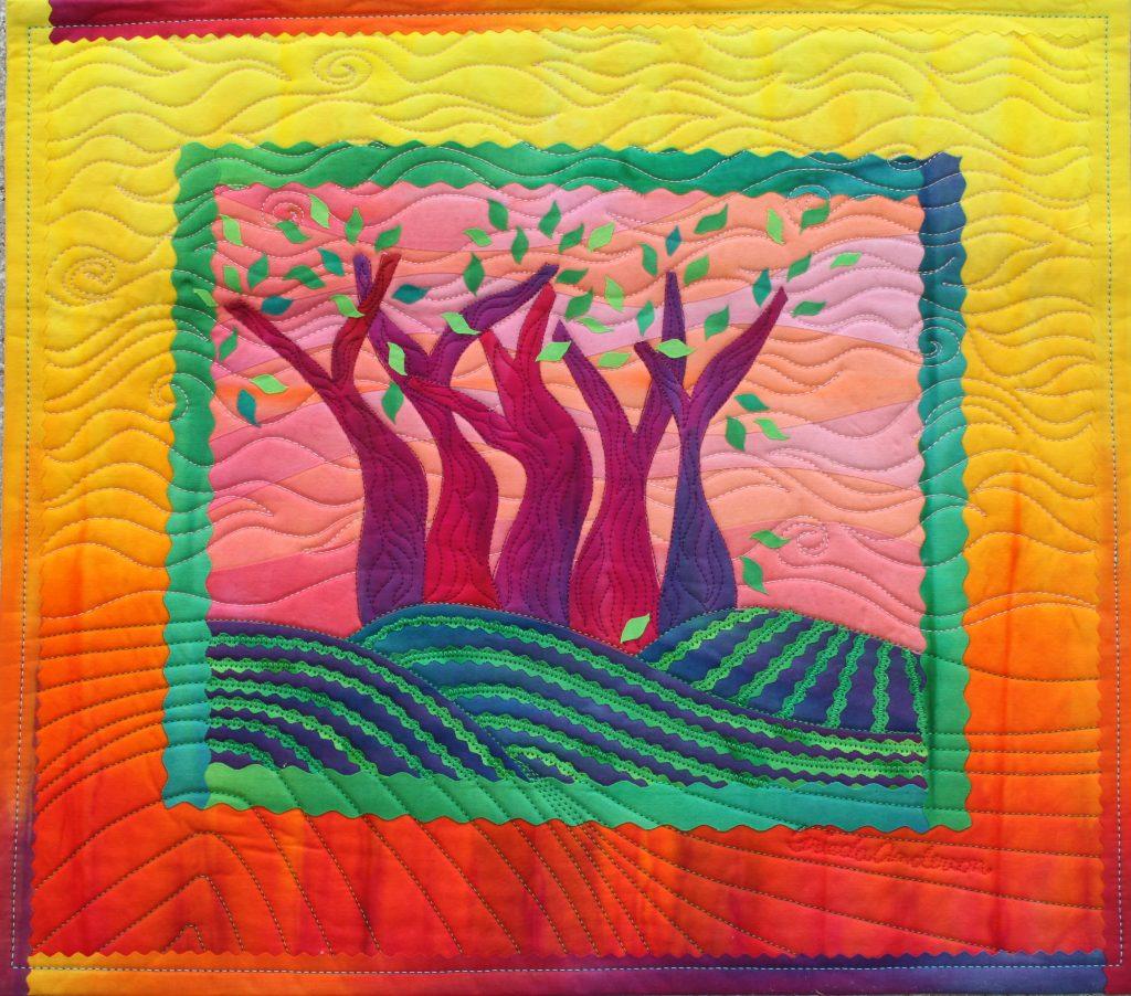 Spring Sister Trees Frieda Anderson
