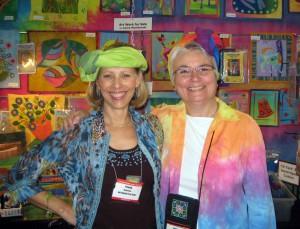 Frieda Anderson and Laura Wasilowski