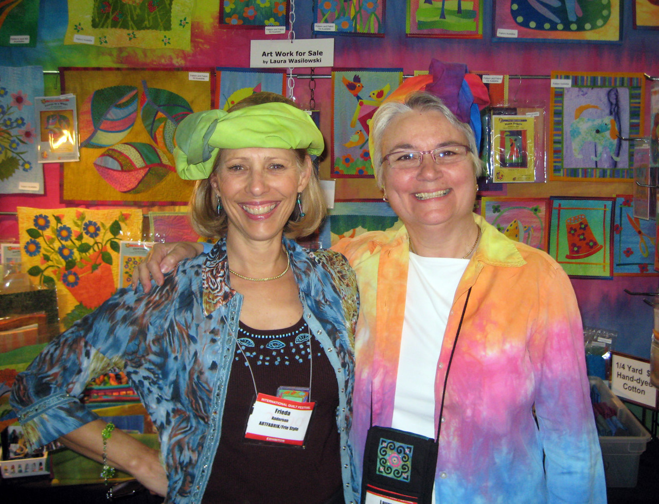 Frieda Anderson and Laura Wasilowski