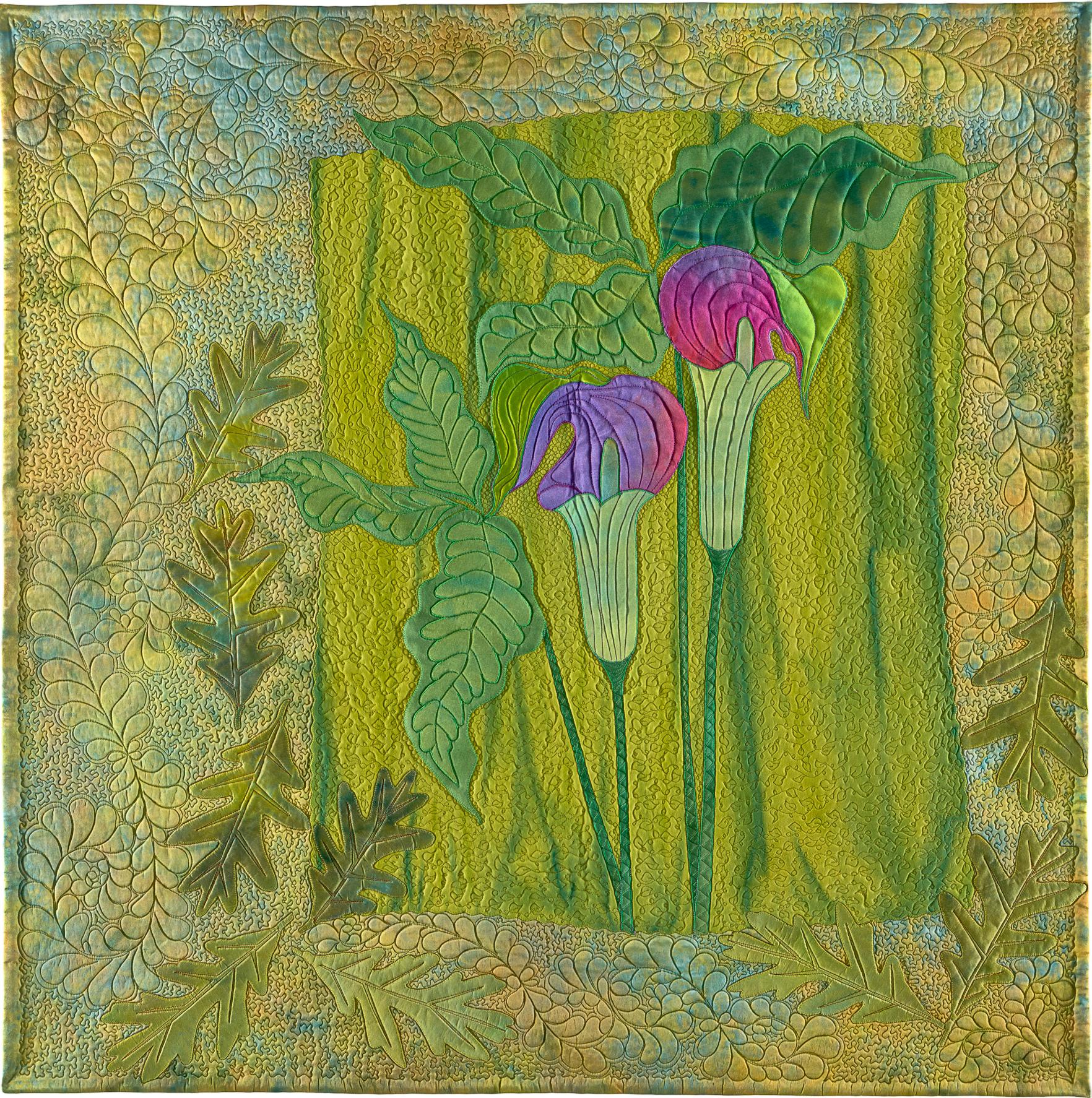 Frieda Anderson's quilt Woodland Secrets