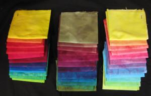 12 step hand dyed gradation