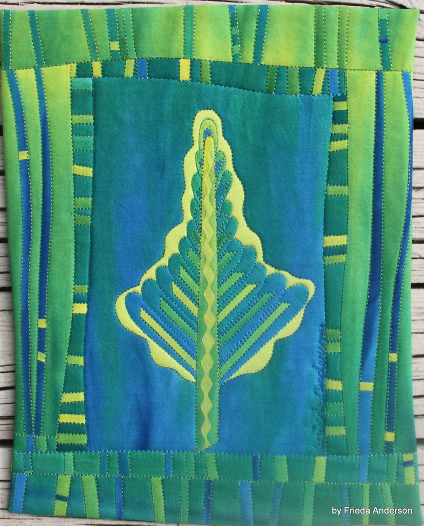 Blue Sunset Pines