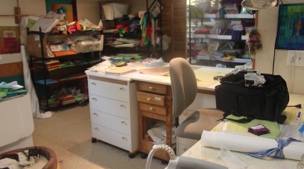 Frieda Anderson studio