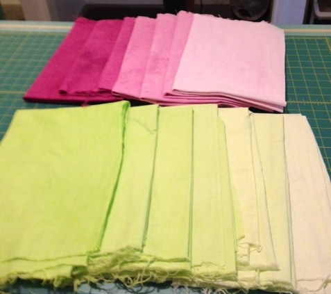 Fabric to Dye For samples