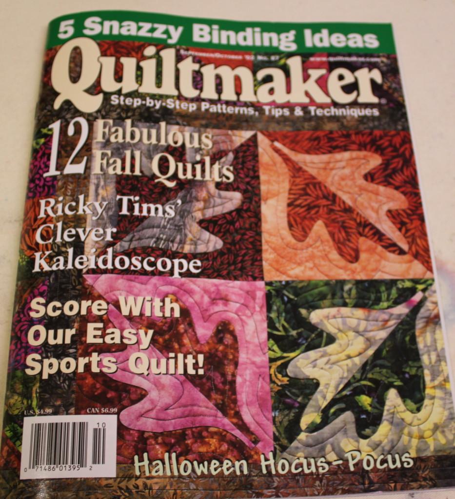 Quiltmaker September/October 2002