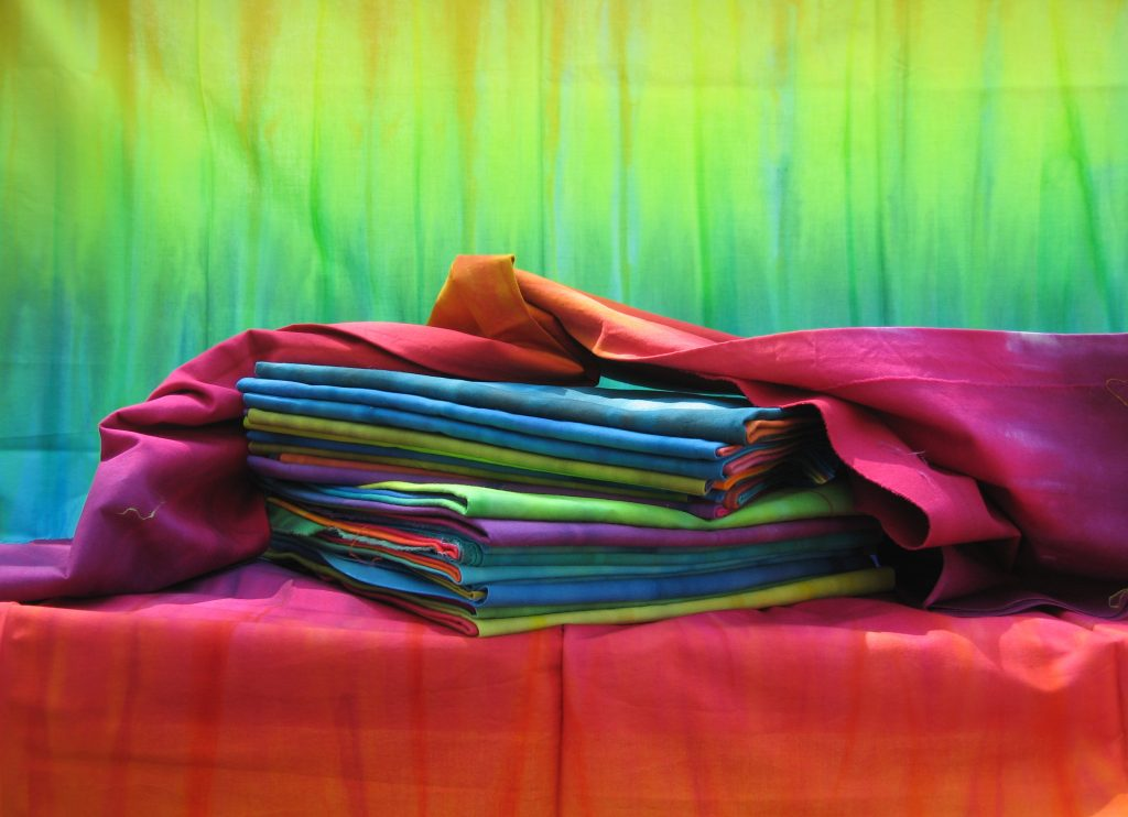 Frieda's hand dyed fabric